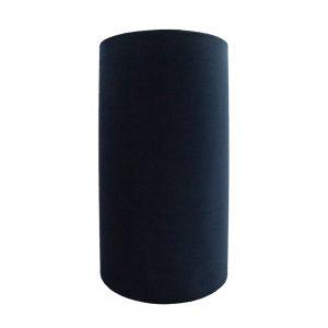 Navy Blue Velvet Tall Drum Lampshade