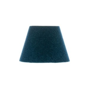 Navy Blue Wool Empire Lampshade