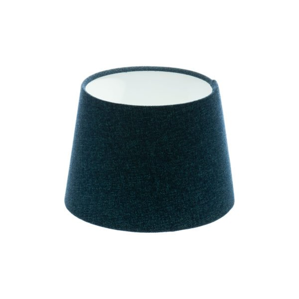 Navy Blue Wool French Drum Lampshade