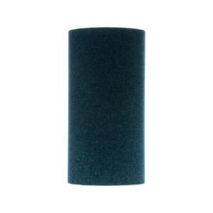 Navy Blue Wool Tall Drum Lampshade