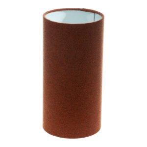 Rust Herringbone Tall Drum Lampshade
