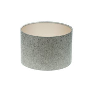 Serpa Dove Grey Drum Lampshade Champagne Inner