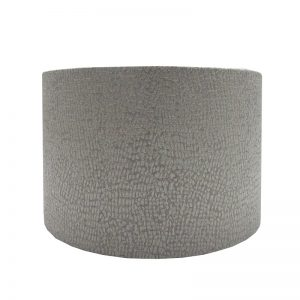 Serpa Dove Grey Drum Lampshade