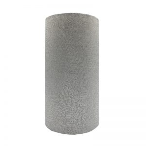 Serpa Dove Grey Tall Drum Lampshade