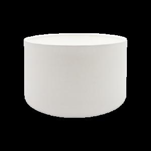 White Drum Lampshade