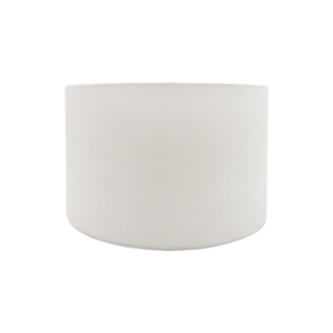 White Drum Lampshade
