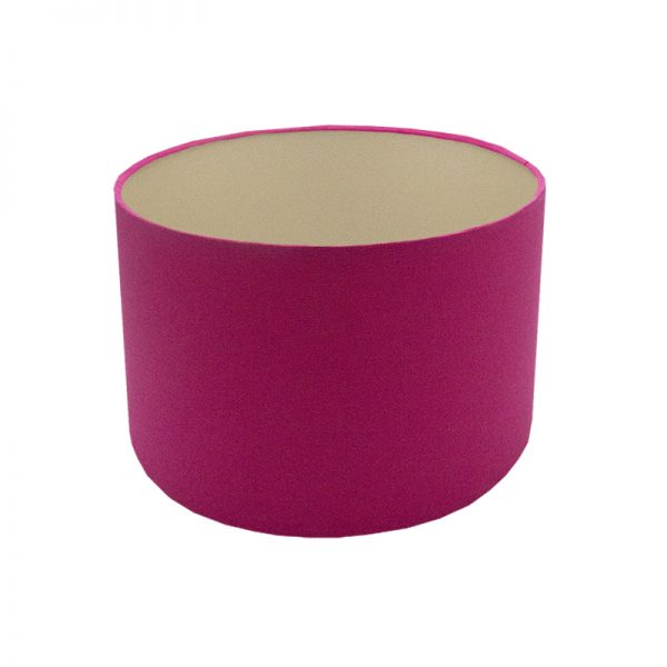 Sorbet Bright Pink Drum Lampshade