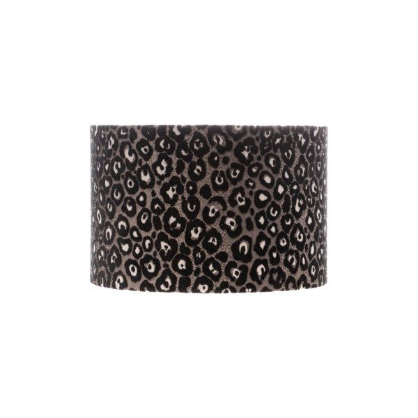 Leopard Print Drum Lampshade