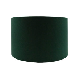 Emerald Green Velvet Drum Lampshade