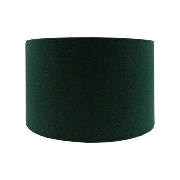 Voyage Emerald Green Velvet Drum Lampshade