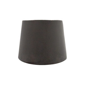 Voyage Slate Grey Velvet French Drum Lampshade