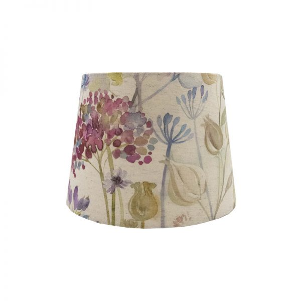 Voyage Hedgerow Pink French Drum Lampshade