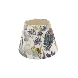Voyage Hedgerow Blue Empire Lampshade Champagne Inner