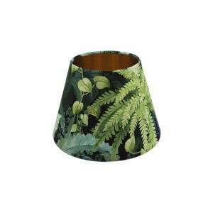 Botanical Empire Lampshade Copper Inner