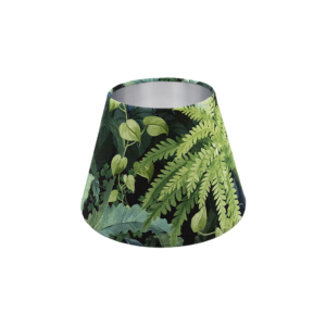Botanical Empire Lampshade Silver Inner