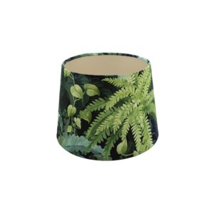 Botanical French Drum Lampshade Champagne Inner