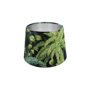 Botanical French Drum Lampshade Copper Inner