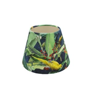 Jungle Parrot Empire Lampshade Champagne Inner