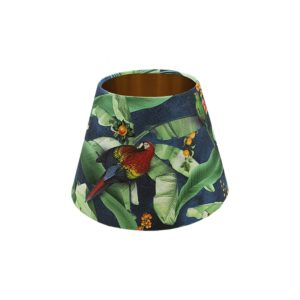 Jungle Parrot Empire Lampshade Copper Inner