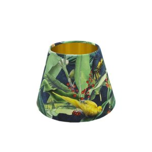 Jungle Parrot Empire Lampshade Gold Inner