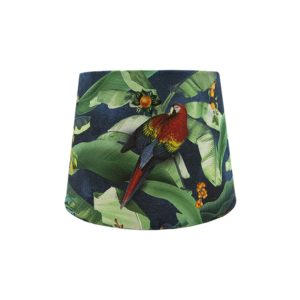 Jungle Parrot French Drum Lampshade