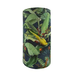 Jungle Parrot Tall Drum Lampshade