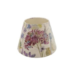 Voyage Hedgerow Pink Empire Lampshade Champagne Inner