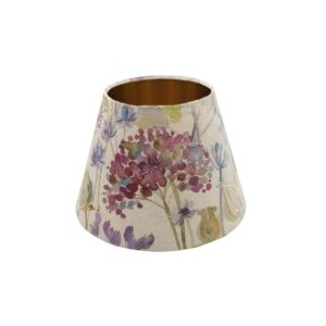 Voyage Hedgerow Pink Empire Lampshade Copper Inner