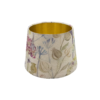 Voyage Hedgerow Pink French Drum Lampshade Gold Inner