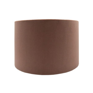 Blush Pink Velvet Drum Lampshade