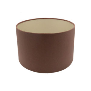 Blush Pink Velvet Drum Lampshade Brushed Champagne Inner