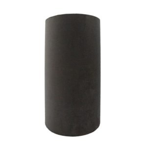 Slate Grey Velvet Tall Drum Lampshade