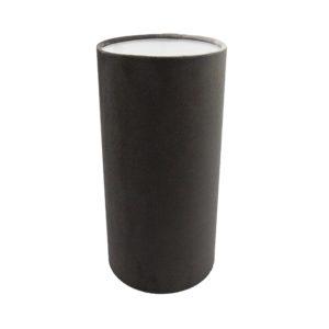 Slate Grey Velvet Tall Drum Lampshade