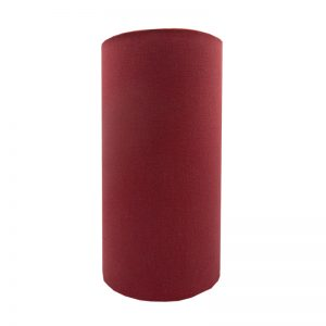 Raspberry Red Tall Drum Lampshade