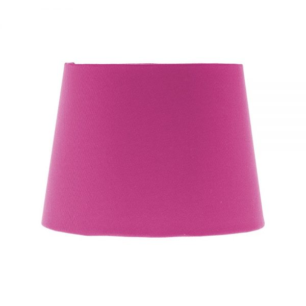 Bright Pink French Drum Lampshade