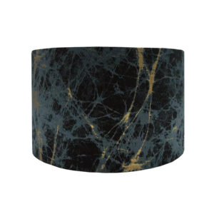 Lava Teal Drum Lampshade
