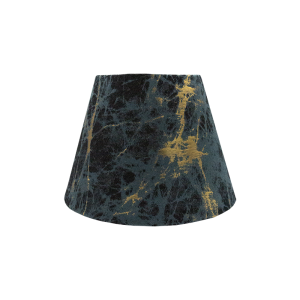 Lava Teal Empire Lampshade