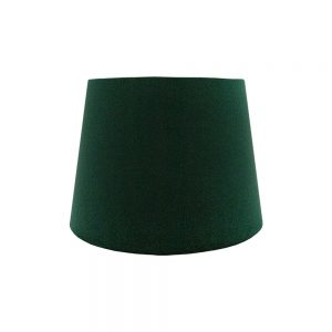 Emerald Green Velvet French Drum Lampshade