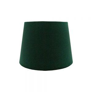 Emerald Green Velvet French Drum Lampshade