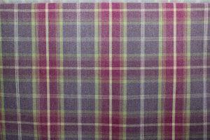 Balmoral Amethyst Tartan Fabric