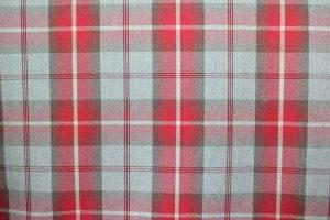 Balmoral Cherry Tartan Fabric