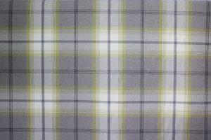 Balmoral Citrus Tartan Fabric