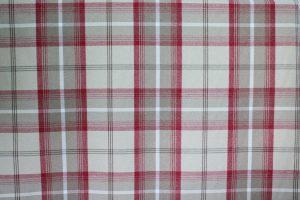 Balmoral Cranberry Tartan Fabric