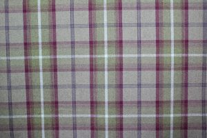Balmoral Heather Tartan Fabric