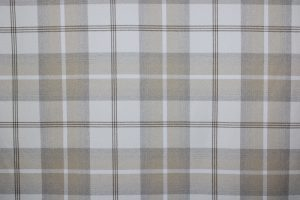 Balmoral Natural Tartan Fabric