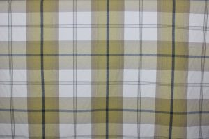 Balmoral Ochre Tartan Fabric