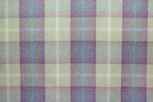 Balmoral Pistachio Tartan Fabric