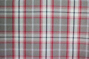 Balmoral Rosso Tartan Fabric