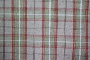 Balmoral Rust Tartan Fabric