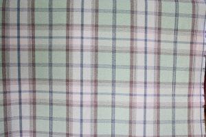 Balmoral Sage Tartan Fabric.